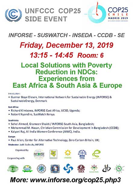 SIDE EVENT: INFORSE - SUSWATCH - INSEDA - CCDB - SE - PROGRAM (pdf
